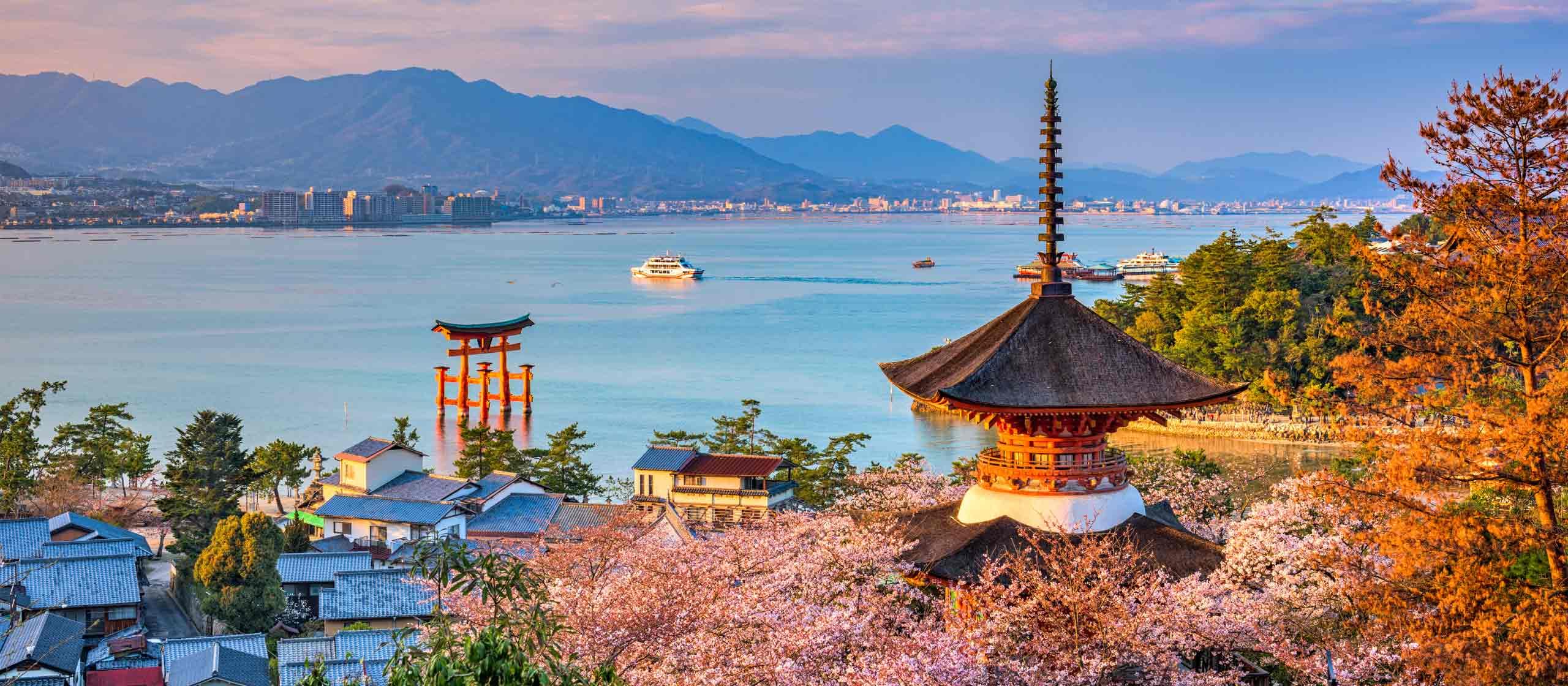 Around Hiroshima & Miyajima