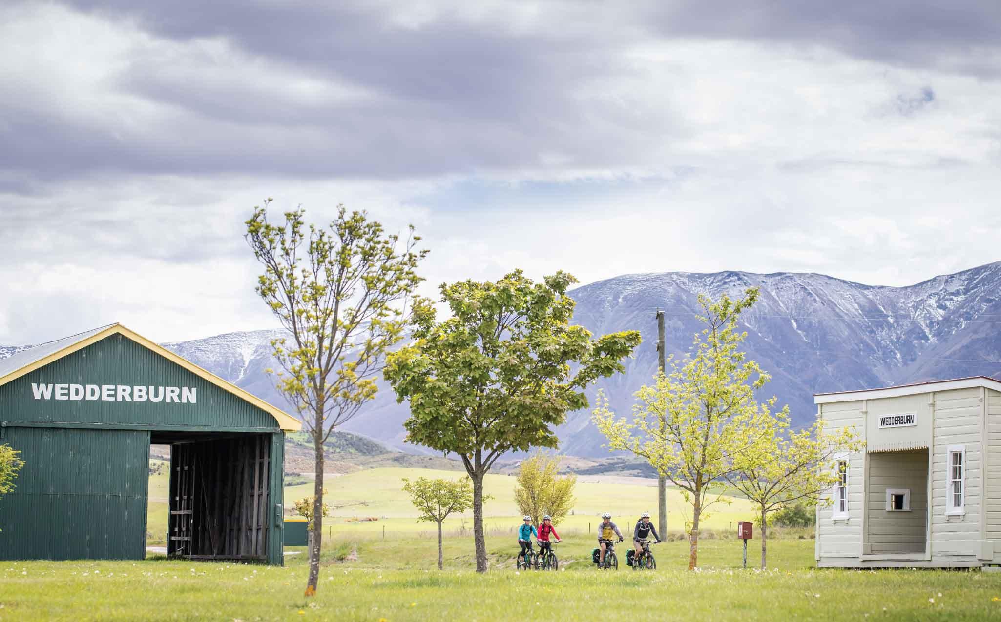 Otago Central Rail Trail Cycling Wedderburn