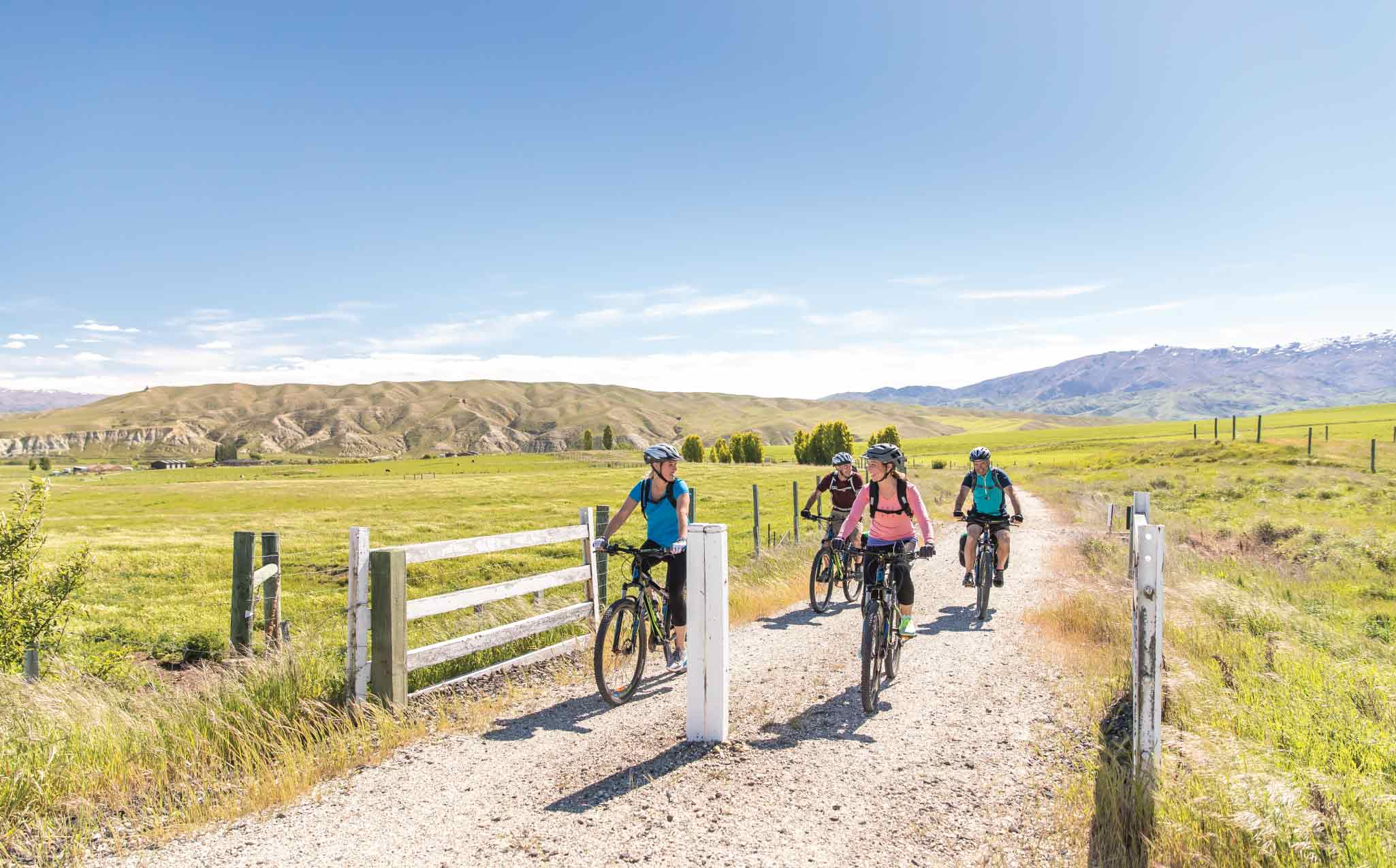 Otago Central Rail Trail Cycling