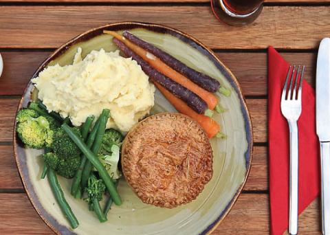 Otago Central Rail Trail Waipiata Hotel Food