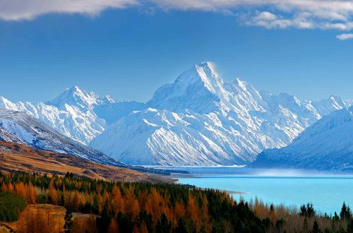 Lake-Pukaki-new-zealand-south-island-cycle