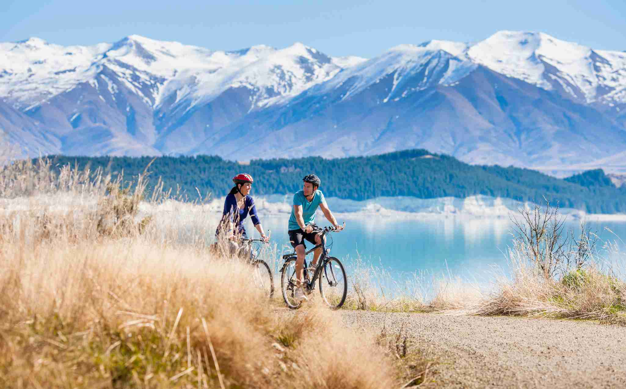Mount Cook National Park Hooker Valley Cycling