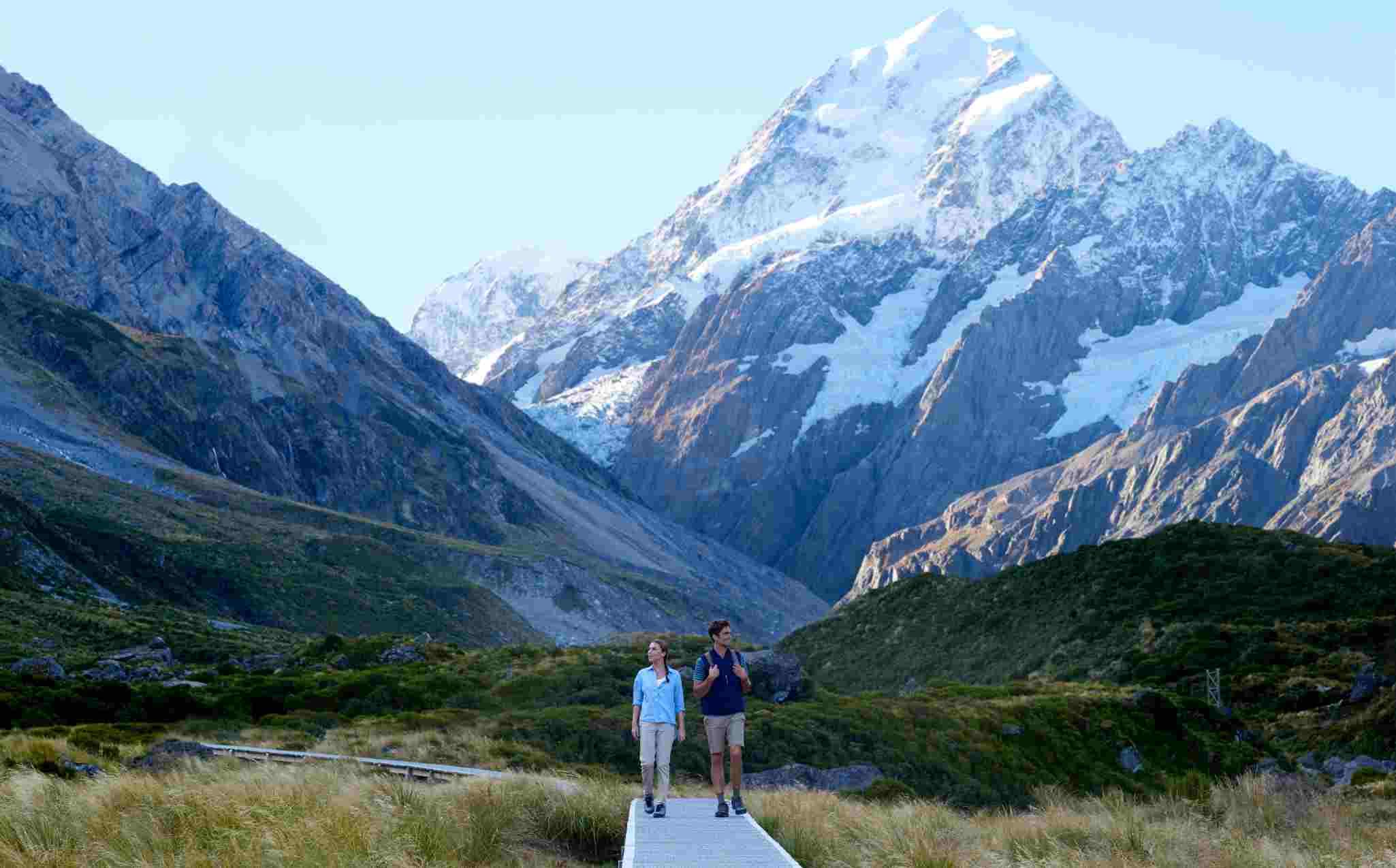 Mount Cook National Park Hooker Valley