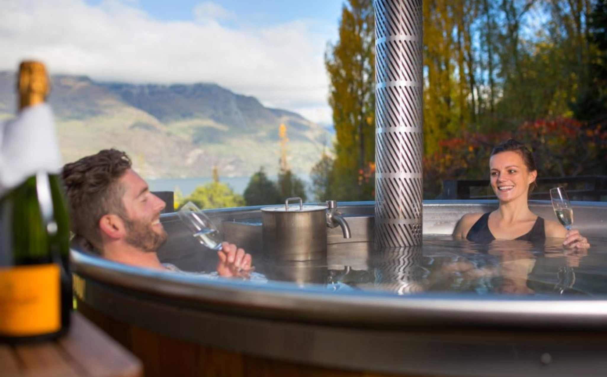 Hidden Lodge Outdoor Hot Bath