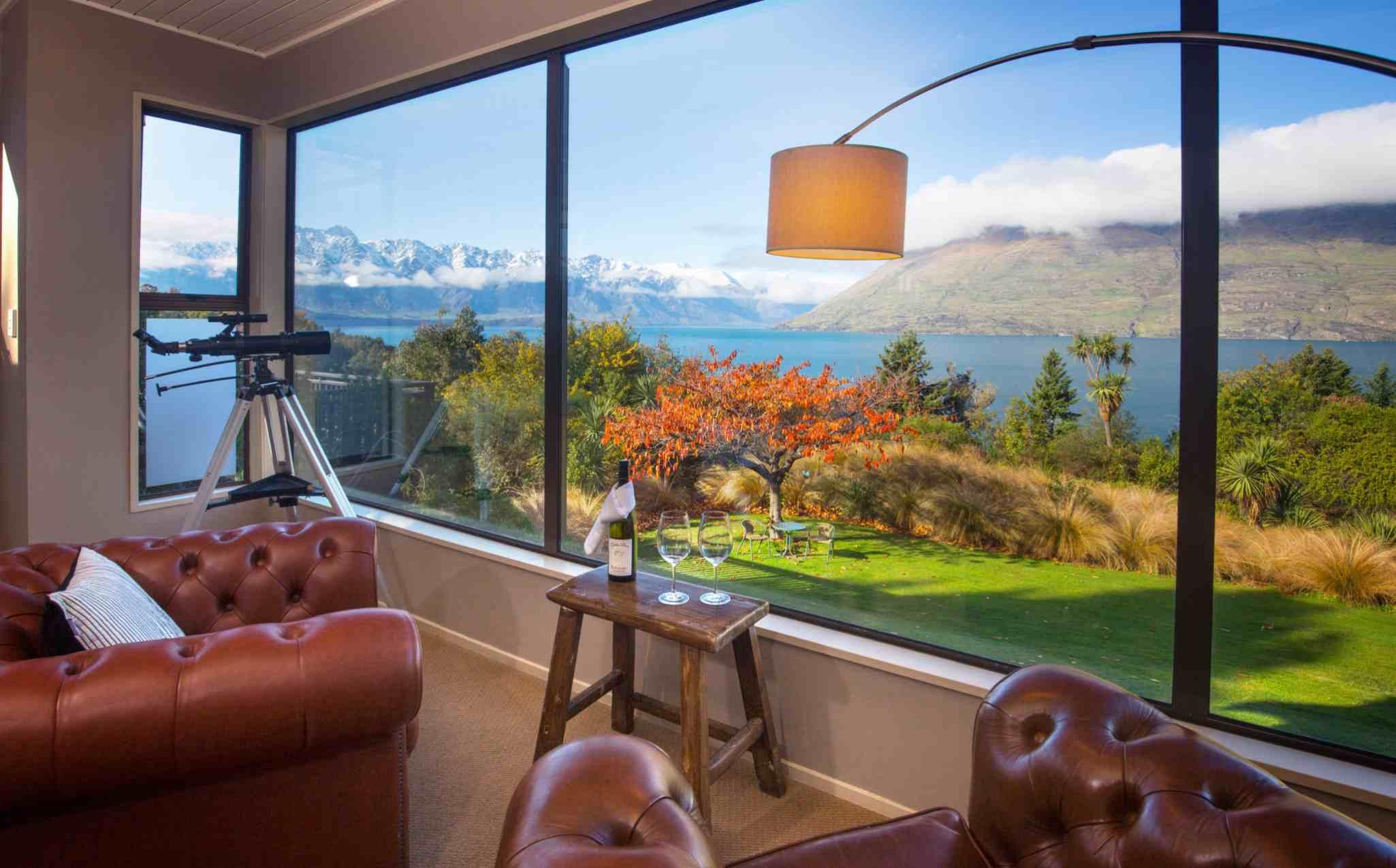 Hidden Lodge Lounge View