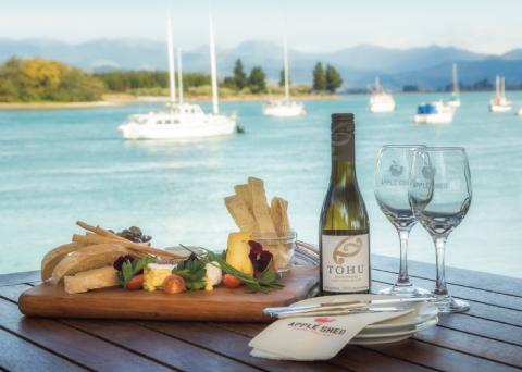 Tasman's Great Taste Trail Cycling Tour Mapua Wharf