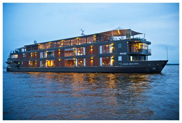 Aqua Mekong Luxury Cruise