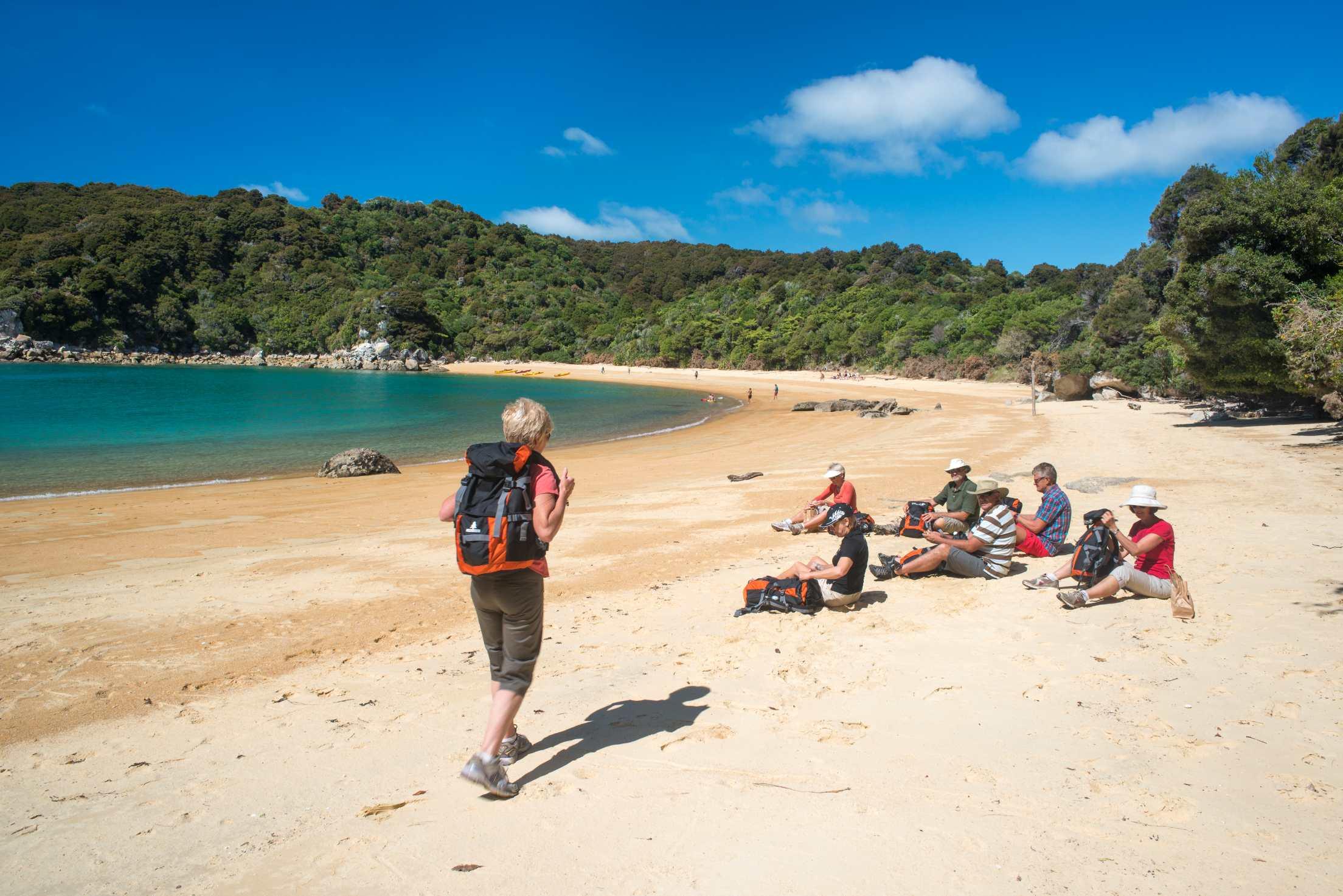 Abel Tasman Walk beach