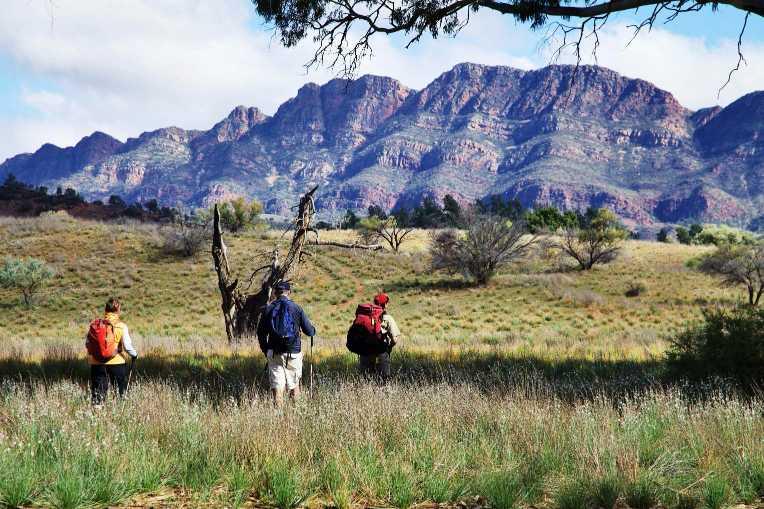 Flinders Ranges Luxury Outback Walk Guided