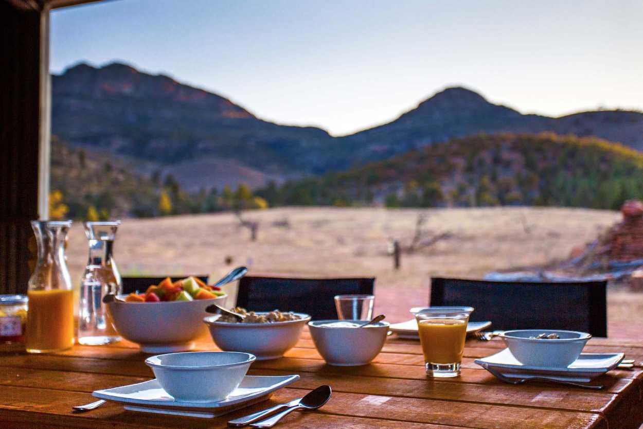 Flinders Ranges Luxury Outback Walk Outback Breakfast