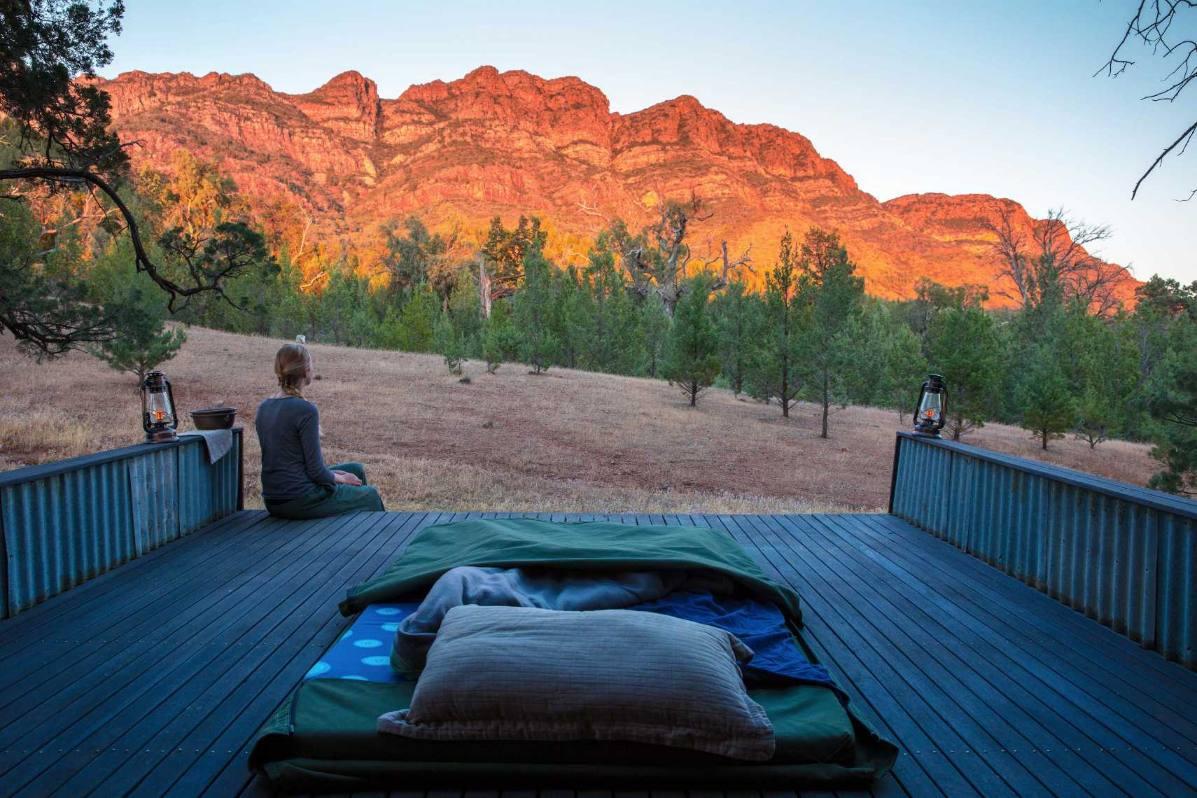 Flinders Ranges Luxury Outback Walk Swag