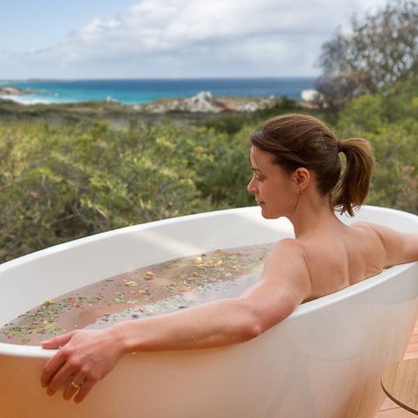 Bay of Fires Lodge Spa Bathing