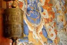 Bhutan Luxury Walk Prayer's Wheel