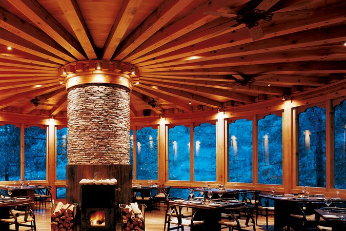 Bhutan COMO Uma Paro Bukhari Restaurant