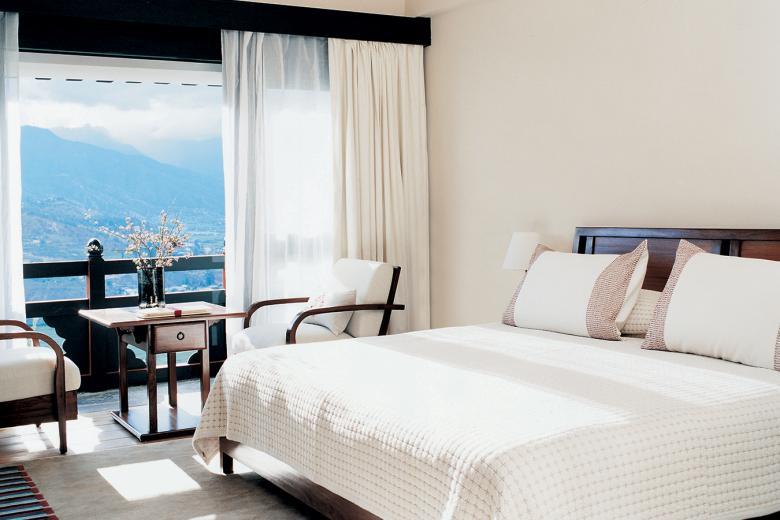 Bhutan COMO Uma Paro Valley View Room