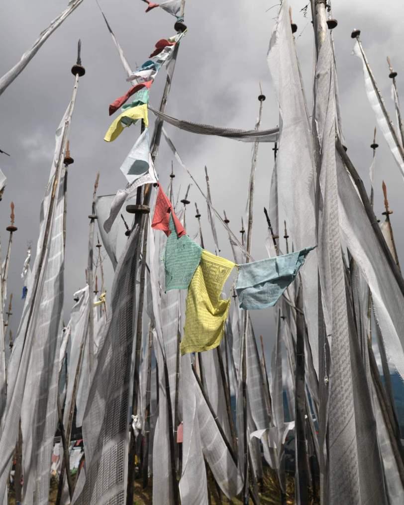 Bhuthan Luxury Trekking Flags