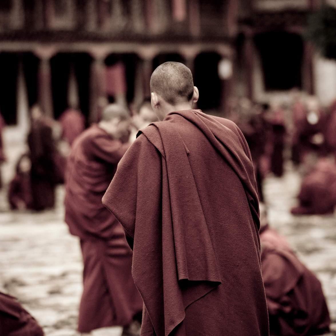 Bhutan Luxury Trekking Monks