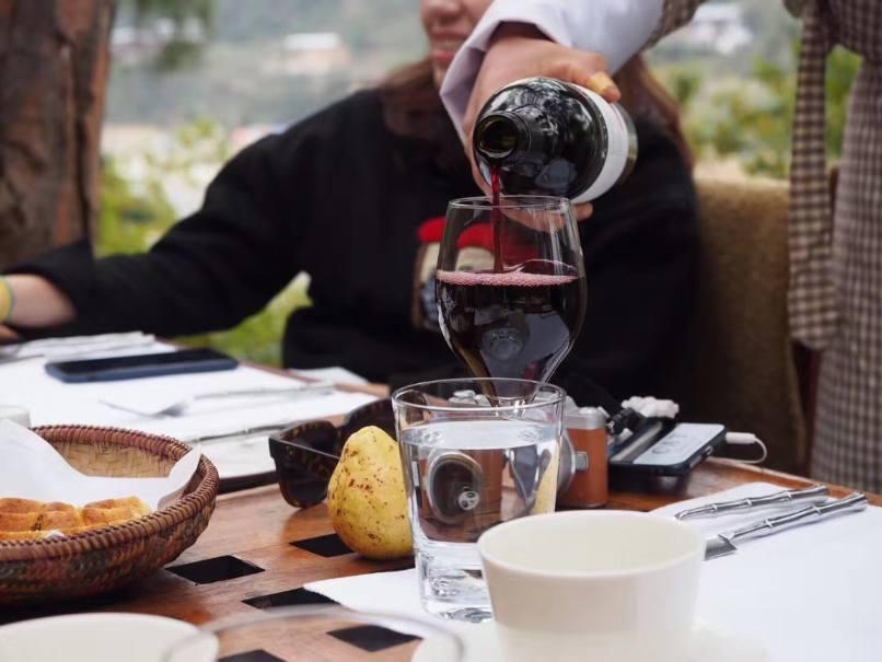 Bhutan Luxury Holiday Amankora Dinner
