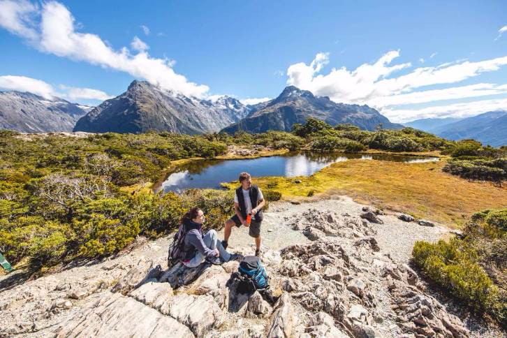 Fiordland Walk Routeburn Track