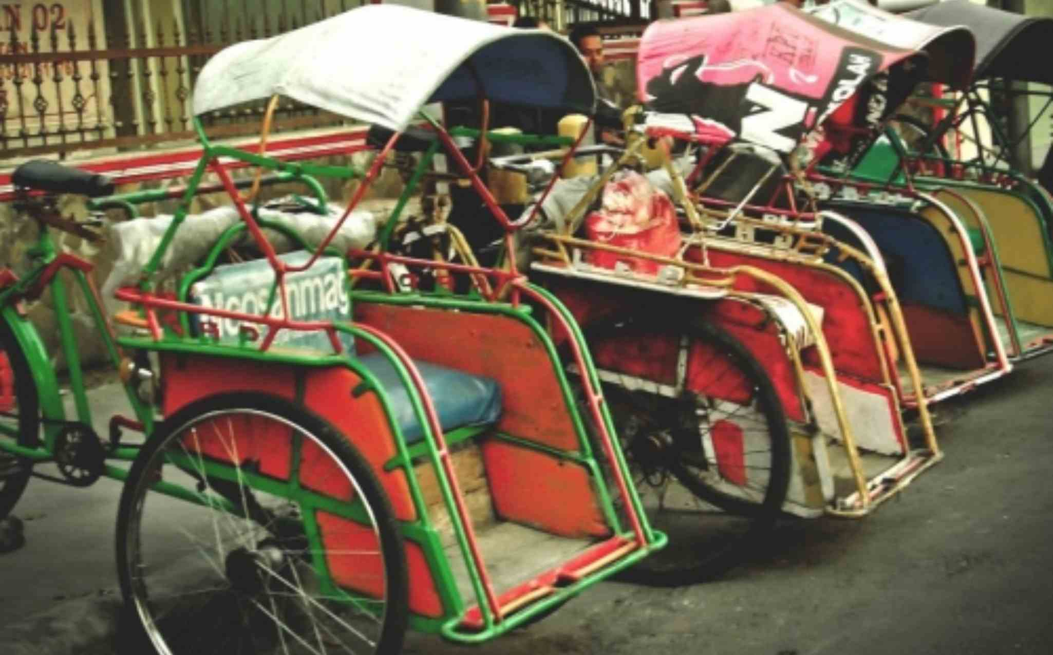 Malang Becak Ride