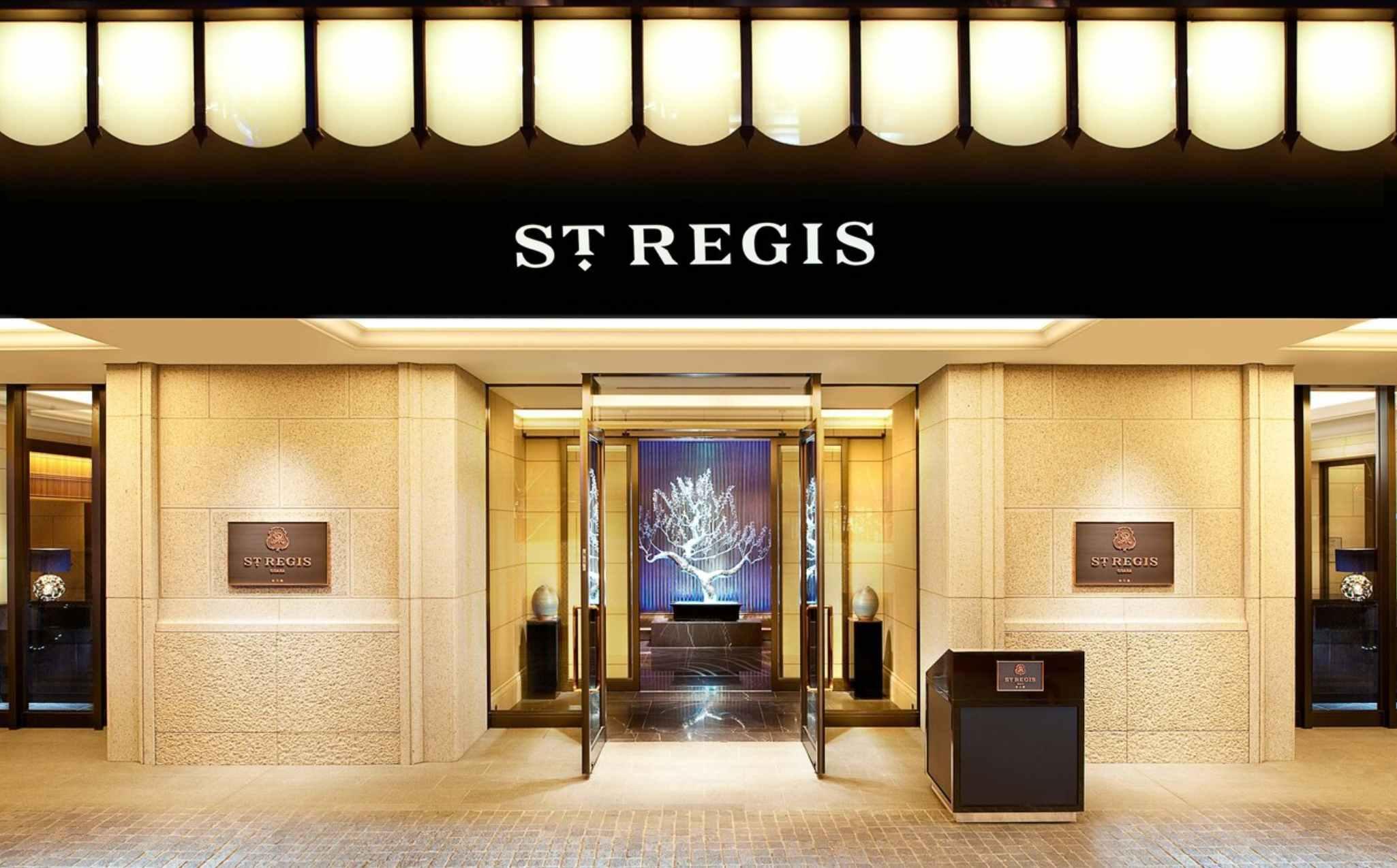 St Regis Osaka Entrance