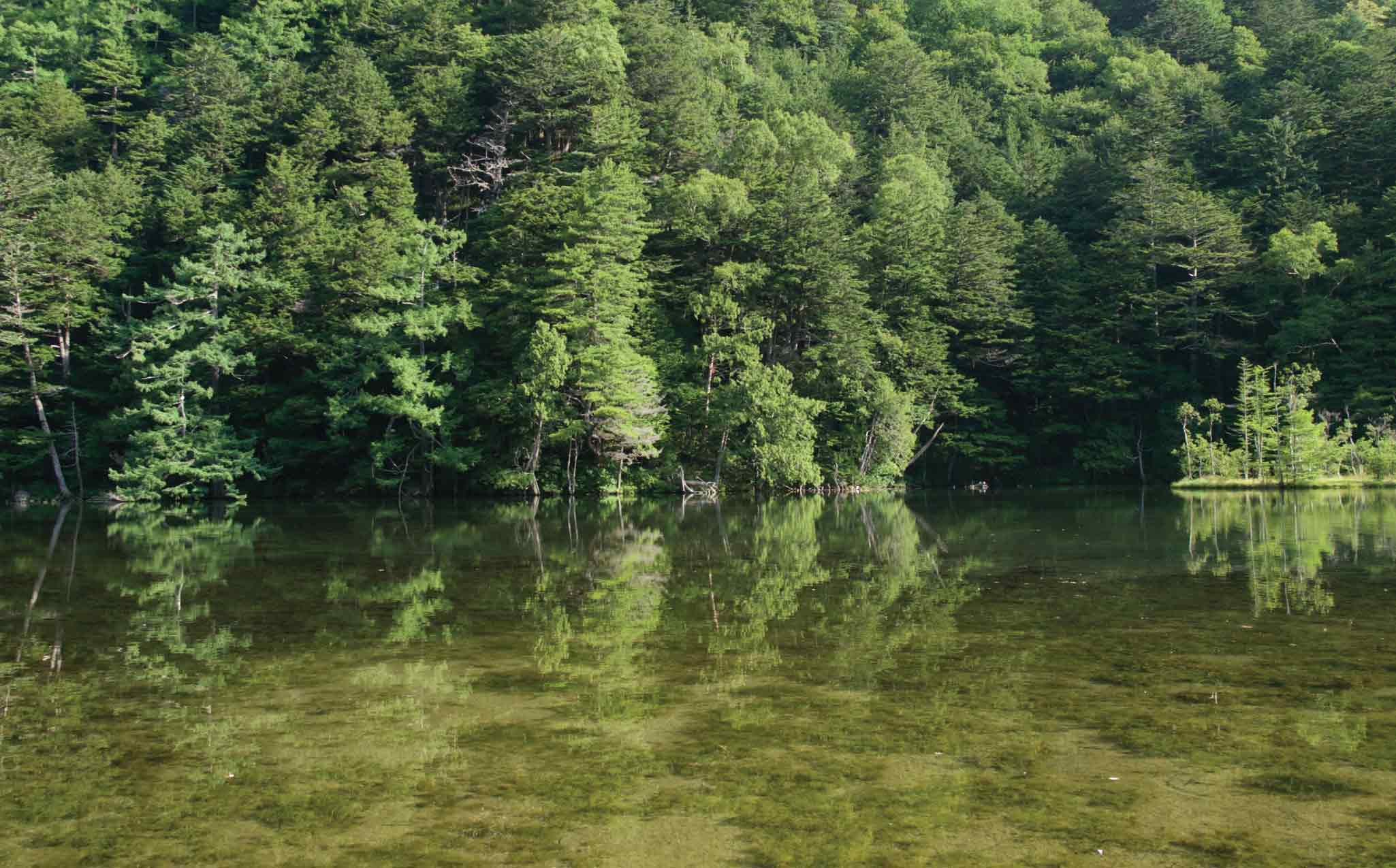 Kamikochi Myojin Pond