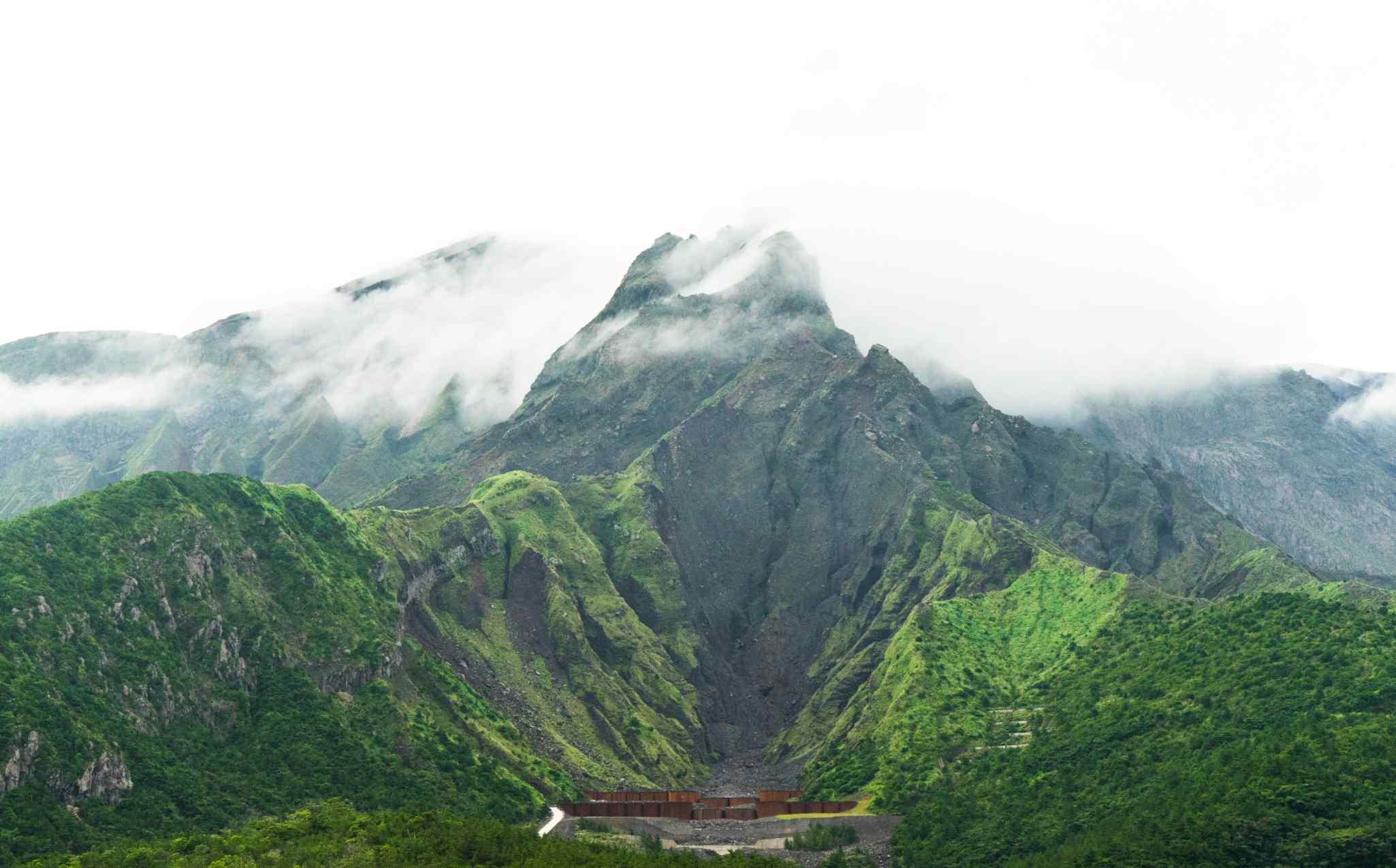 Japan Walk Kyushu Sakurajima