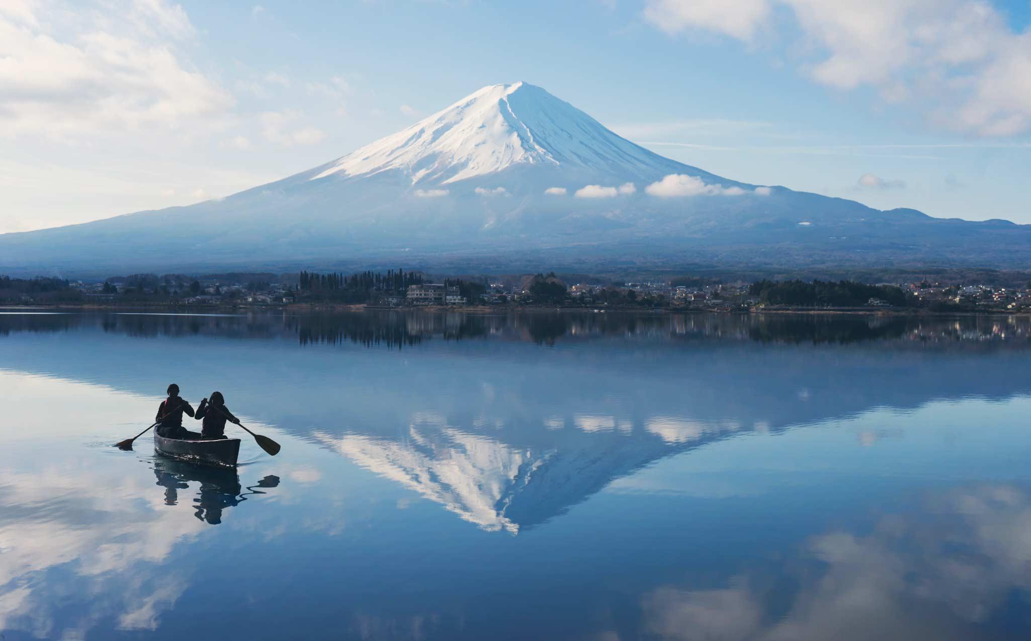 Lake Kawaguchi Canoeing