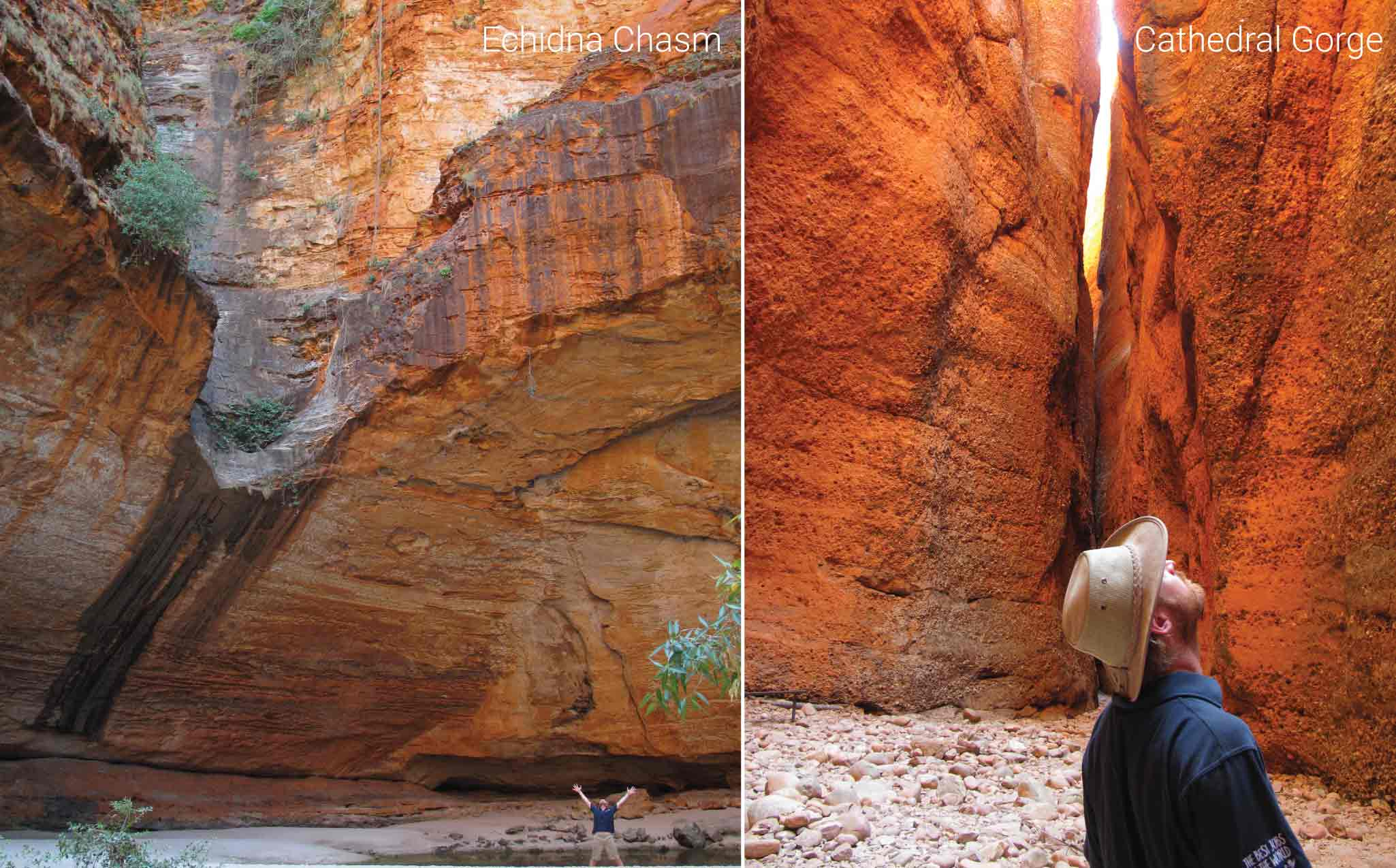 Kimberley Trekking Tour Echidna Chasm & Cathedral Gorge