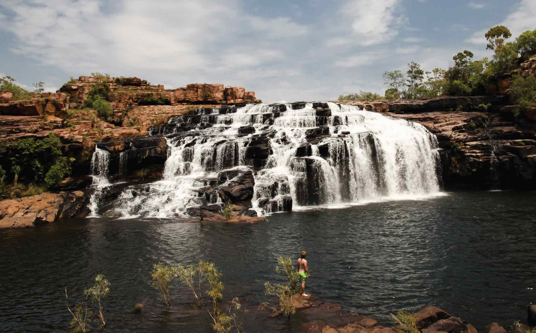 Kimberley Trekking Tour Manning Gorge Waterfall
