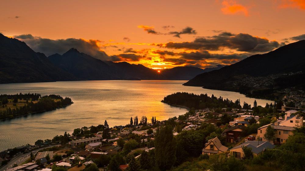 South Island New Zealand Queenstown