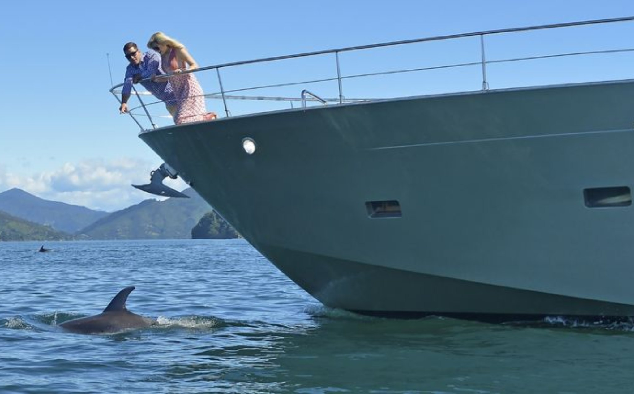 Tarquin Cruise on Board