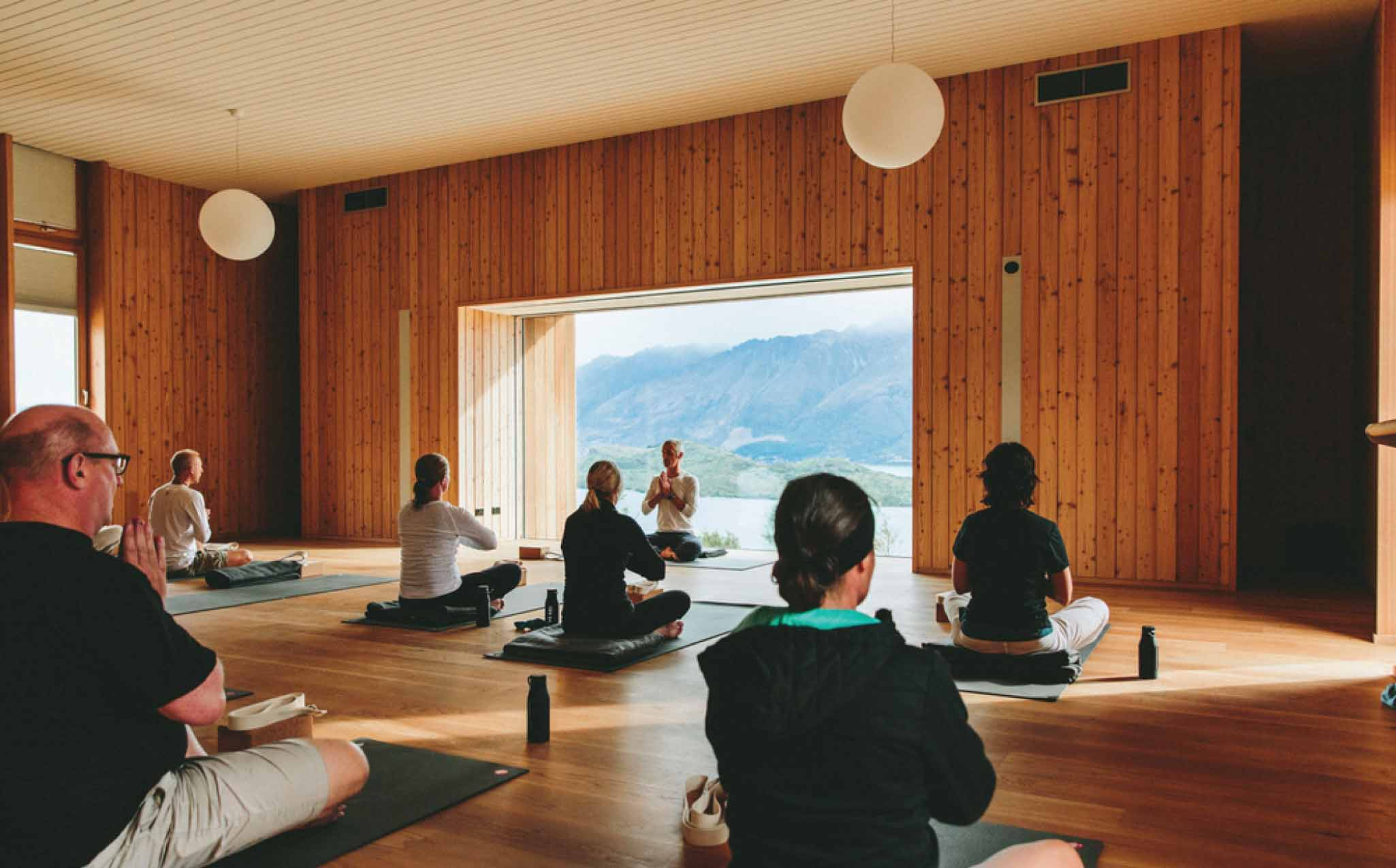 Retreat Resort Yoga Class