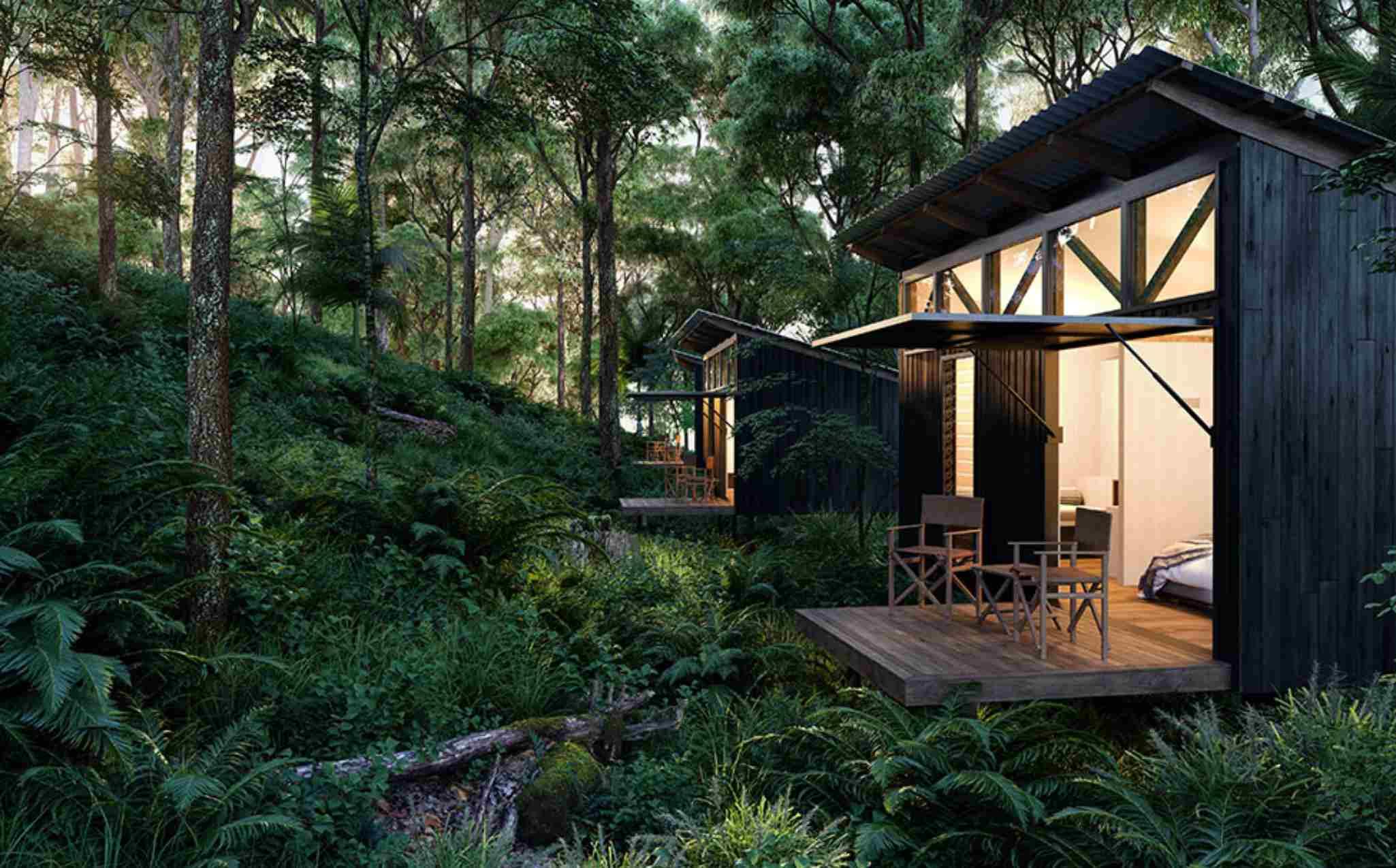 Scenic Rim Trail Walk Timber Getter Eco Cabin