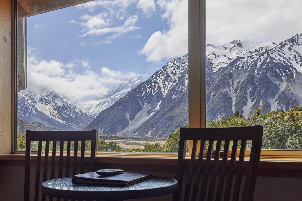 Southern Alps Trek Aoraki Mount Cook Alpine Lodge Views