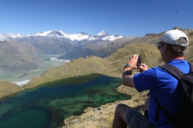 Southern Alps Trek Matukituki Valley Wanaka Hike