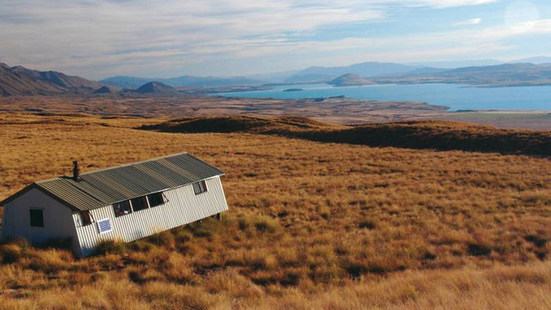 Southern Alps Trek Rex Simpson Hut