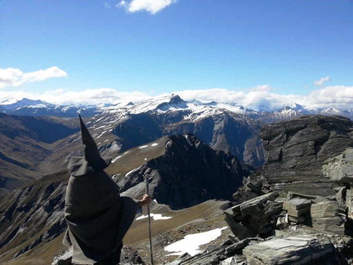 Wanaka Heli-Hike Gandalf Makes An Appearance