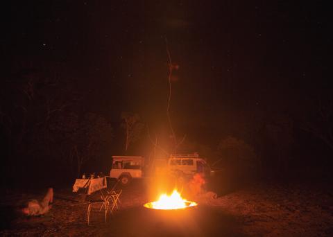 Kakadu Adventure Bonfire