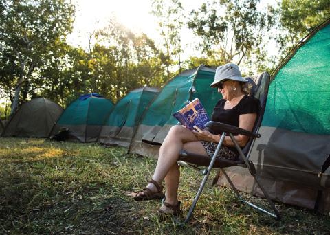 Kakadu National Park Walk Camping