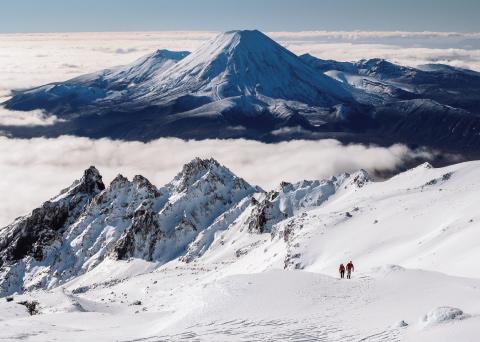 Mt Ruapehu Winter Hike