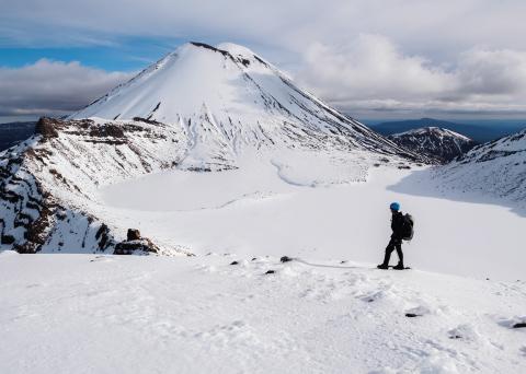 Tongariro Alpine Crossing Winter Walk