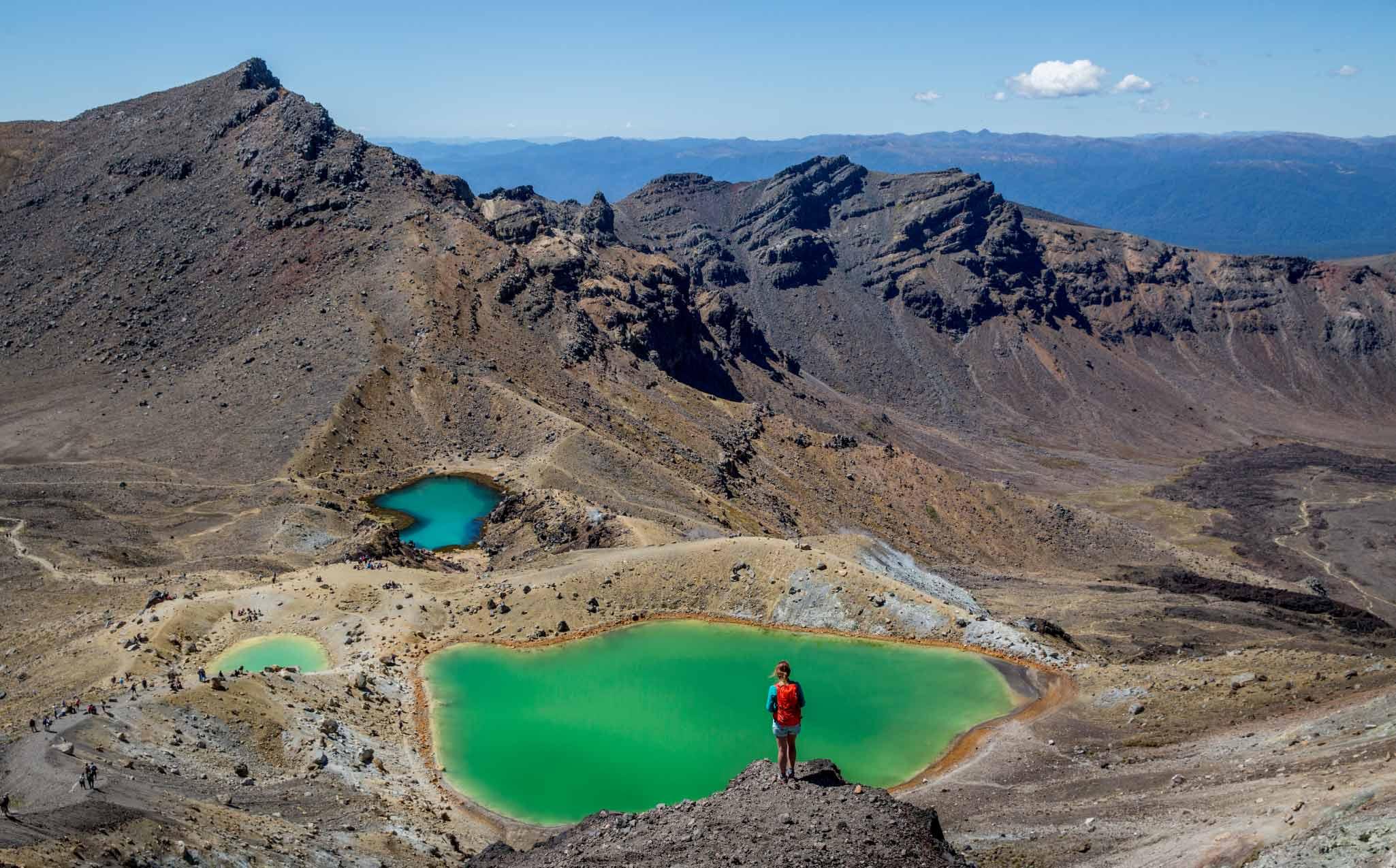 Tongariro Alpine Crossing Walk Crater Lake