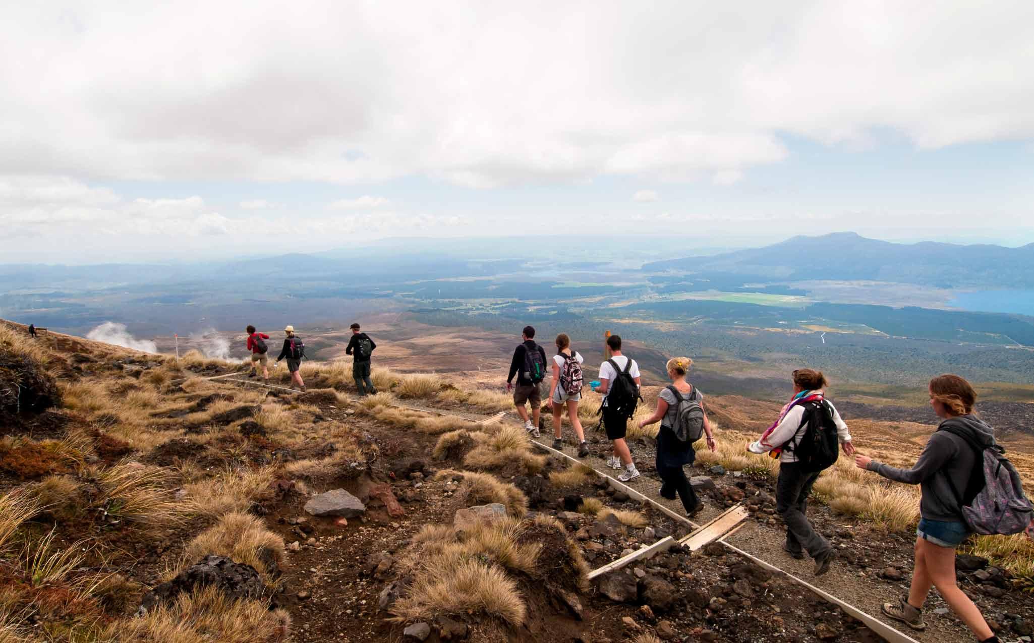 Tongariro Alpine Crossing Walk
